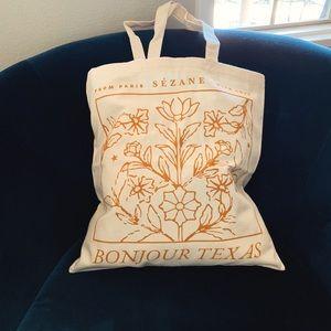 Sezane Bags - Bonjour Texas Sézane Tote Bag